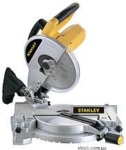Пила торцева STANLEY 1500 Вт диск 255 мм