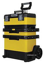 """Ящик для інструментів на колесах STANLEY """"Rolling Workshop"""" 57 х 41 х 72 см"""