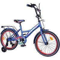 Велосипед EXPLORER 18 сине-красный T-218114