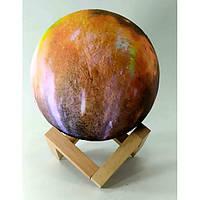 """Ночник """"Луна"""" Led, сенсорный переключатель цветов(d-15 см) A ( 32848A)"""