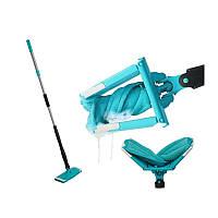 Швабра з віджиманням для підлоги складна з мікрофібри Titan Twister Турбо швабра для прибирання будинку
