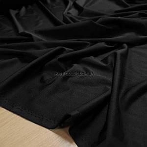 Трикотаж микромасло кристалл Shinil черный