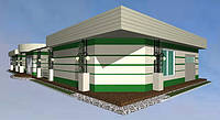 Дизайн-проект оздоблення фасадів магазину «КОШИК»