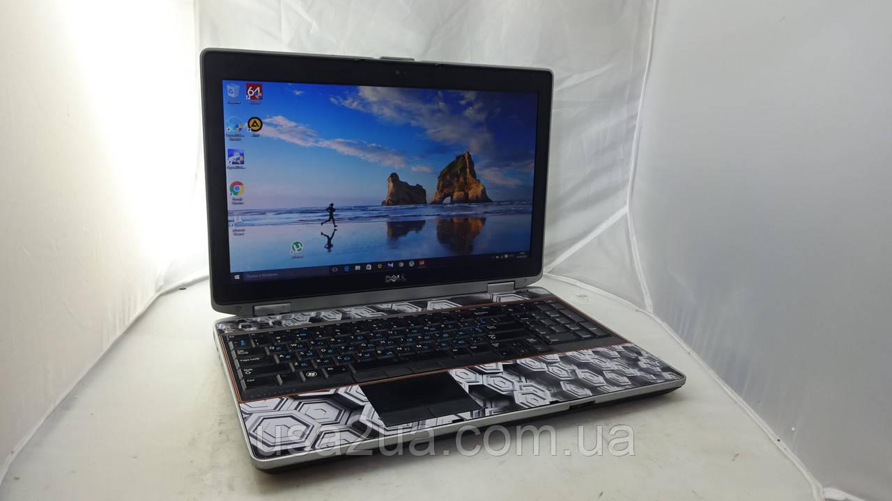 """15.6"""" Ноутбук Dell Latitude E6520 Core I3 4Gb 500Gb  Кредит Гарантия Доставка"""