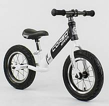 Велобег черно-белый CORSO 12 дюймов 10234