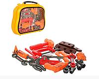 Набор инструментов в чемодане,22 детали,игрушечные инструменты
