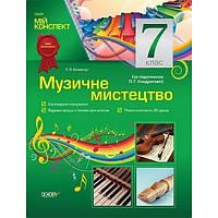 Мой конспект: Музыкальное искусство 7 класс (По учебнику Л. Г. Кондратовой)