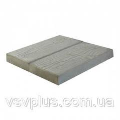 Большие формы для тротуарной плитки Доска 400х400х50 Вереск 1 шт, фото 2
