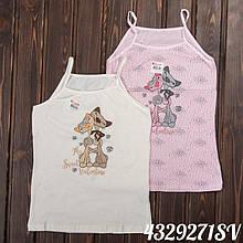 Детская Белье майка для девочки DONELLA Турция 4329271SV Розовый