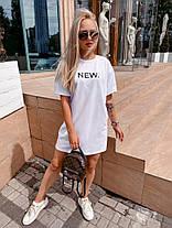 """Стильне плаття-футболка оверсайз """"Urban"""", фото 2"""