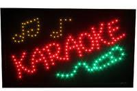 Вывеска светодиодная `Караоке`. 55x35 см