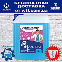 Альгицид Aquadoctor AC 5 л. Жидкость против водорослей и зелени в бассейне. Химия для бассейнов Аквадоктор