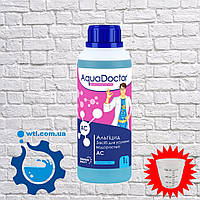 Альгицид Aquadoctor AC 1 л. Средство против водорослей. Химия для бассейнов Аквадоктор