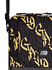 Сумка через плечо Gard Messenger Copyleather серая/желтая каллиграфия 1/20, фото 2