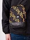 Сумка через плечо Gard Messenger Copyleather серая/желтая каллиграфия 1/20, фото 3