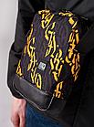 Сумка через плечо Gard Messenger Copyleather серая/желтая каллиграфия 1/20, фото 4