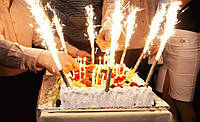 Фейерверк  в торт 10см