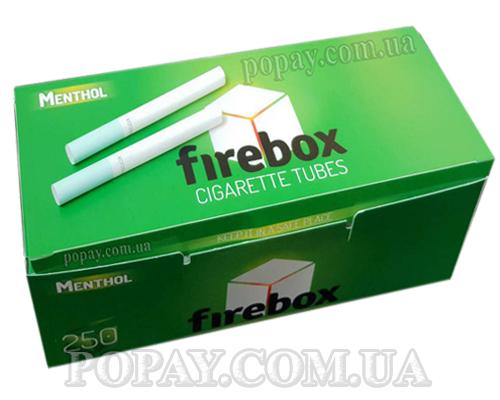 Гільзи для сигарет з ментолом Топки 250 шт.