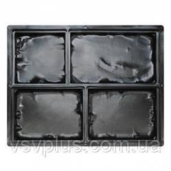 Пластикові форми Середньовічний камінь 4 вироби Верес 1 шт, фото 2