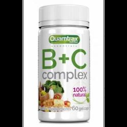 Витамин Ц + Б Quamtrax B+C Complex - 60 капс