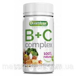 Вітамін Ц + Б Quamtrax B+C Complex - 60 капс