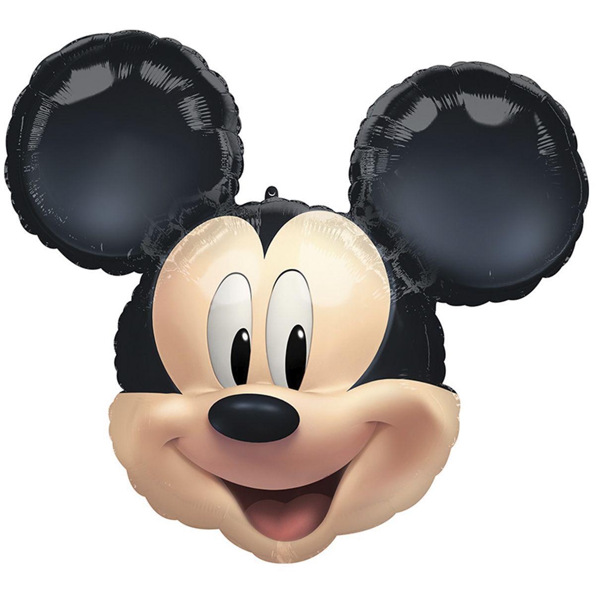 Фольгированные шар Микки Маус Голова 63х55 см ANAGRAM