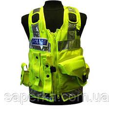Полицейский разгрузочный жилет c кобурой для Taser. Великобритания, оригинал.