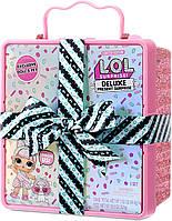 Игровой набор ЛОЛ Сюрприз Суперподарок - LOL Surprise Deluxe Present Surprise Розовый, фото 5