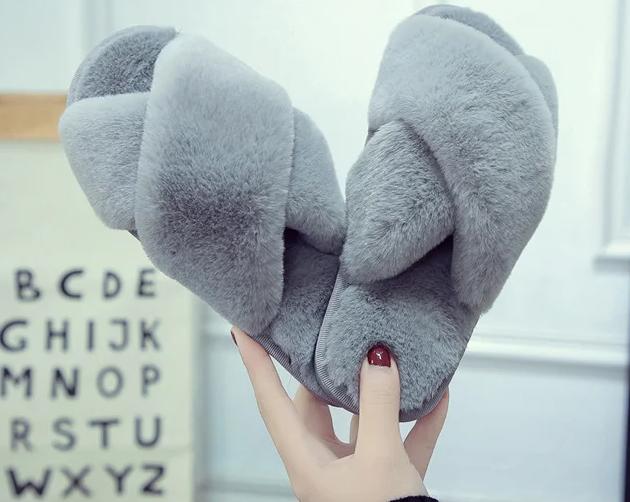 Домашние тапочки  Velvet hug   gray