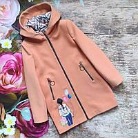 """Демисезонное кашемировое пальто для девочки """"Леди"""""""