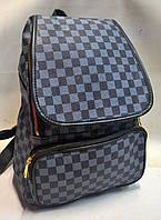 Рюкзак Louis Vuitton клетка, фото 1