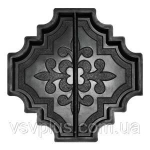 Фигурные пластиковые формы Лилия (Милерия) большая половинка 297×147,5×45 Вереск 1 шт