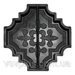 Фигурные пластиковые формы Лилия (Милерия) большая половинка 297×147,5×45 Вереск 1 шт, фото 2