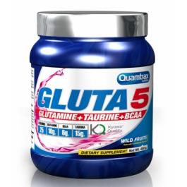 Аминокислоты глютамин, бца и таурин Quamtrax Gluta 5 - 400 г