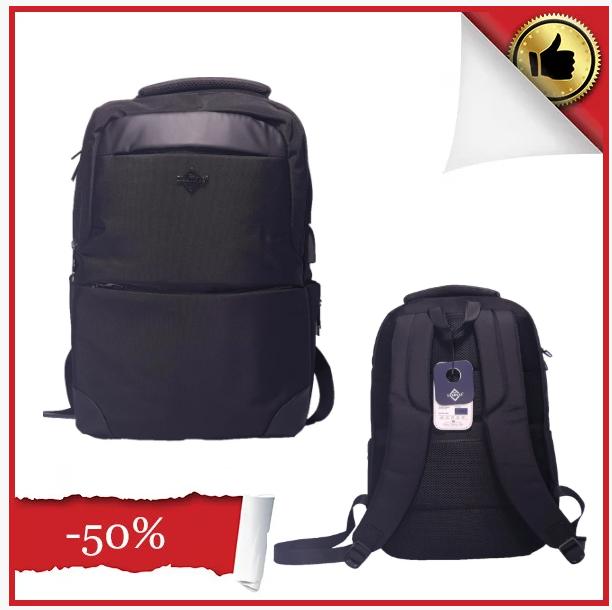 Рюкзак для ноутбука LEADFAS ткань полиэстер цвет чёрный