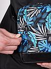 Сумка через плечо Gard Messenger Copyleather синие листья 1/20, фото 2