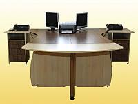 Стол компьютерный ( комплект для офиса) + 2 тумбы