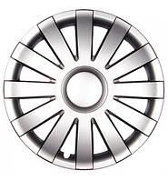 Ковпаки коліс ONYX Silver Радіус R14 (4шт) хром кільце Olszewski