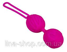 Вагинальные шарики Adrien Lastic Geisha Lastic Balls Mini Magenta (S)