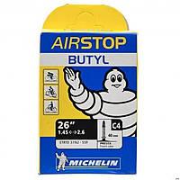 "Велокамера МТБ Michelin C4 26"" 1.45-2.6 Presta 40 мм"