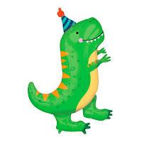 Гелиевые Шар фольга фигурки большая Динозавр Т-рекс 3207-2044
