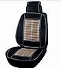 Накидка МАССАЖЕР деревяная на авто сиденья 47х127 см. Бежевого Цвета, Бамбук (ELEGANT 100657)