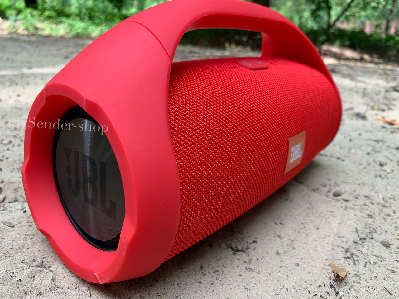 Колонка JBL Boombox BIG 40 Вт ( 34см ) Бумбокс Великий Червоний