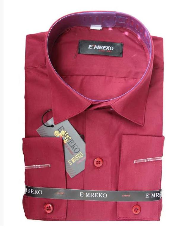 рубашка бордовая для мальчика