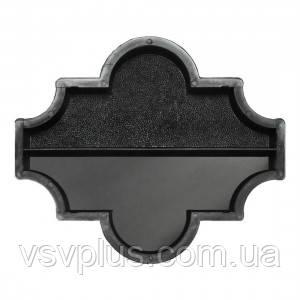 Фігурні форми Конюшина половинка поздовжня 270×111×45 Верес 1 шт