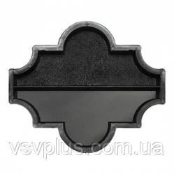 Фігурні форми Конюшина половинка поздовжня 270×111×45 Верес 1 шт, фото 2