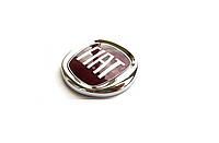Эмблема Fiat скотч 80х75мм пластик-красная