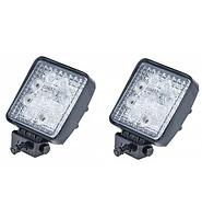 Противотуманные LED фара квадратная 82*80mm 27W 1500lm (2шт)