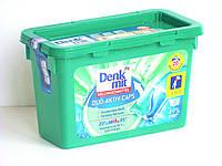 Капсулы для стирки белого белья Denkmit 20 стирок (Vollwaschmittel Caps Duo-Aktiv)