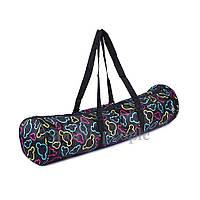 Сумка-чехол для ковриков по йоге и фитнесу MS 2516, с карманом, 68*16см, разн. цвета